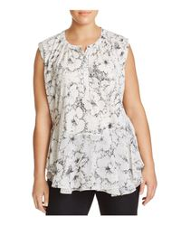 Lucky Brand - Multicolor Floral-print Top - Lyst