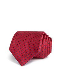 W.r.k. - Red Stitch Dot Classic Tie for Men - Lyst