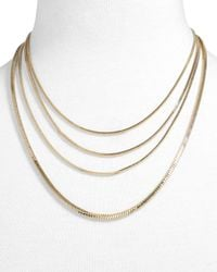 BaubleBar - Metallic Divanshi Necklace - Lyst