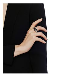 John Hardy | Multicolor Sterling Silver Bamboo Ring With Black Onyx | Lyst