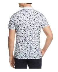AG Green Label - White Parkway Performance Regular Fit Polo Shirt for Men - Lyst