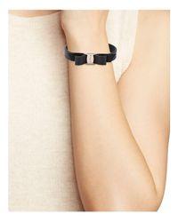 Ferragamo | Multicolor Ferragamo Vara Bow Leather Bracelet | Lyst