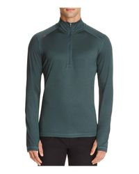 Rhone - Green Sequoia Half-zip Pullover Active Top for Men - Lyst