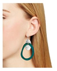 Robert Lee Morris - Green Patina Gypsy Earrings - Lyst