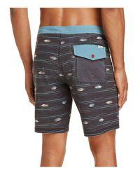 Katin - Black Sparrow Print Board Shorts for Men - Lyst
