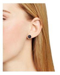 Kate Spade - Black Rise And Shine Stud Earrings - Lyst