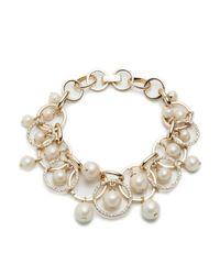 Carolee - Metallic Shaky Links Bracelet - Lyst