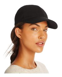 august hat company - Black Solid Baseball Cap - Lyst