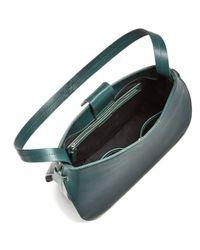 Steven Alan - Black Helena Half Moon Leather Shoulder Bag - Lyst