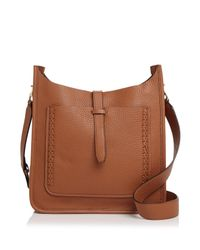 Rebecca Minkoff   Multicolor Unlined Whipstitch Feed Pebbled Leather Crossbody   Lyst
