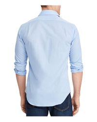 Polo Ralph Lauren - Blue Slim Fit Button-down Shirt for Men - Lyst