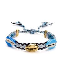 Rebecca Minkoff - Blue Lola Friendship Bracelet - Lyst