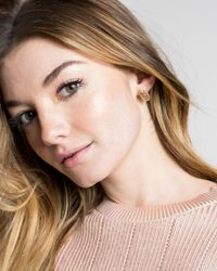 Kendra Scott - Metallic Ellie Filigree Stud Earrings - Lyst