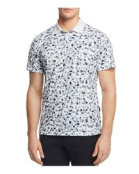 AG Green Label   White Parkway Performance Regular Fit Polo Shirt for Men   Lyst