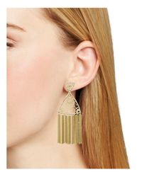 Kendra Scott - Metallic Ana Earrings - Lyst