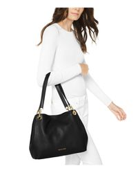 MICHAEL Michael Kors - Brown Raven Large Shoulder Tote - Lyst