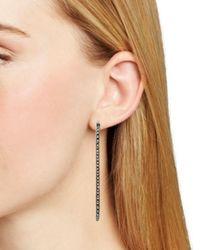 Kendra Scott - Metallic Annemarie Swarovski Crystal Hoop Earrings - Lyst