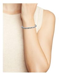 Freida Rothman - Metallic Studded Hinge Bracelet - Lyst