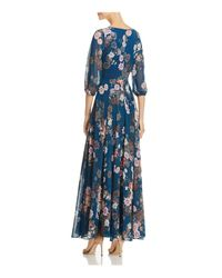 Yumi Kim - Blue Woodstock Floral Print Maxi Dress - Lyst
