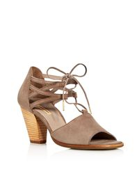 Paul Green - Brown Marsha Ankle Tie High Heel Sandals - Lyst
