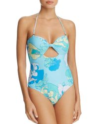 6 Shore Road By Pooja - Blue Laguna One Piece Swimsuit - Lyst