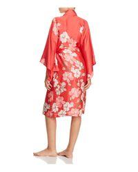 Natori - Pink Wrap Robe - Lyst