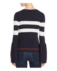 Vero Moda - Blue Lacole Bell-sleeve Sweater - Lyst