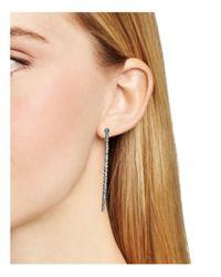Officina Bernardi - Metallic Hoop Earrings - Lyst