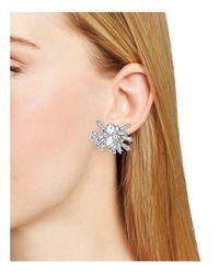 BaubleBar - Metallic Titania Ear Crawler Earrings - Lyst