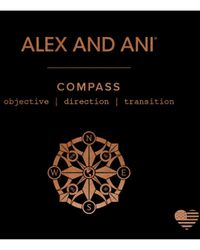 ALEX AND ANI - Metallic Compass Iii Expandable Wire Bangle - Lyst