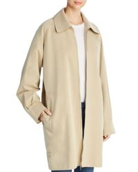 Burberry - Natural Crowhurstlong Jacket - Lyst