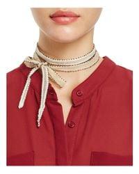 Chan Luu - Red Dip-dye Necktie - Lyst