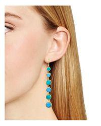 Argento Vivo | Multicolor Stone Linear Earrings | Lyst