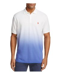 Polo Ralph Lauren - White Cotton Mesh Classic Fit Polo Shirt for Men - Lyst