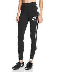 Nike - Black Archive Leggings - Lyst