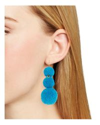 BaubleBar | Blue Mykonos Drop Earrings | Lyst