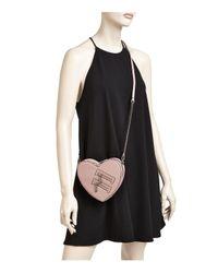 Rebecca Minkoff Multicolor Jamie Heart Leather Crossbody