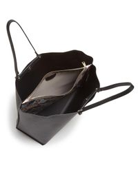 Furla - Black Eden Large Leather Tote - Lyst