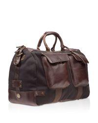 Will Leather Goods - Black Traveler Duffel for Men - Lyst