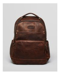 Frye - Brown Logan Leather Backpack for Men - Lyst
