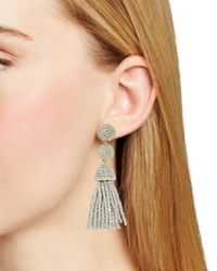 BaubleBar - Metallic Mini Granita Drop Earrings - Lyst