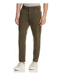 BOSS - Green Orange Sebas Utility Cargo Pants for Men - Lyst