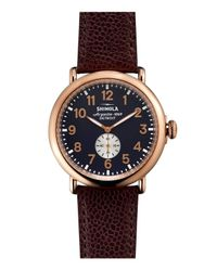 Shinola - Metallic 47mm - Lyst
