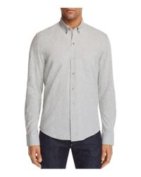 W.r.k. - Gray W.r.k. Reworked Slim Fit Button-down Shirt for Men - Lyst