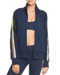 Spiritual Gangster - Blue Striped - Sleeve Track Jacket - Lyst