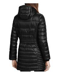 CALVIN KLEIN 205W39NYC - Black Packable Down Coat - Lyst
