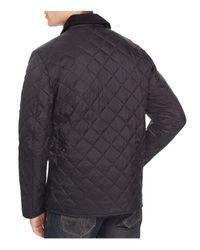 Barbour Black Tinford Quilted Jacket for men