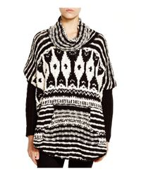 Free People - Black Rosie Lee Poncho - Lyst