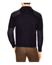 Sandro - Blue Soldier Sweater for Men - Lyst