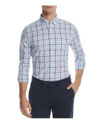 Vineyard Vines - Blue Triggerfish Gingham Slim Fit Murray Button-down Shirt for Men - Lyst